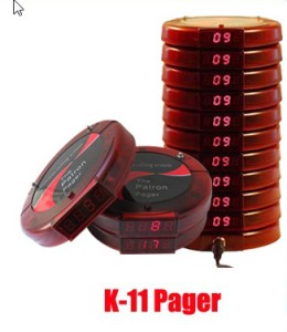 wireless paging system k11